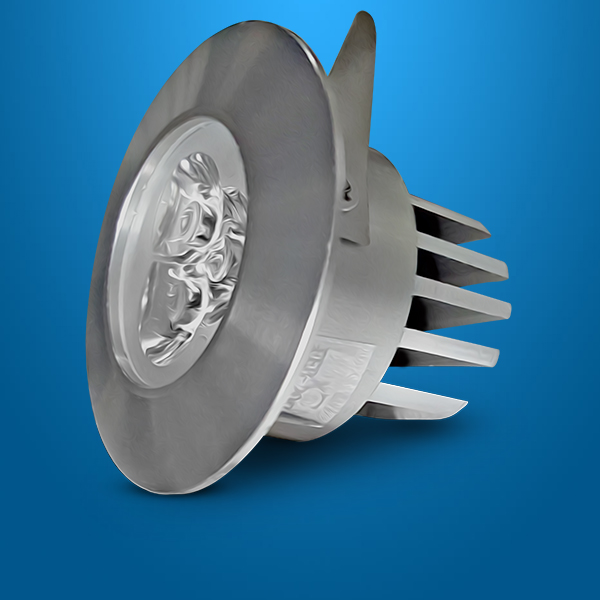 HI POWER LED RECESS DOWN LIGHT SERIES 10003 R (WATTAGE:3 W)