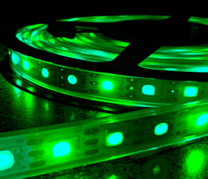 Green FLEXIBLE STRIP LIGHT SERIES