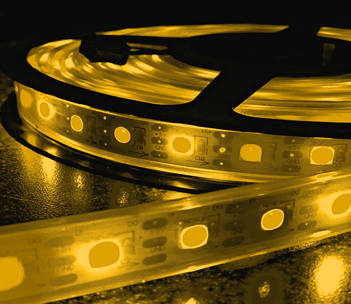 Yellow FLEXIBLE STRIP LIGHT SERIES