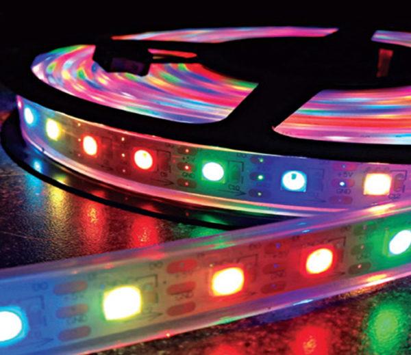 Multicolors FLEXIBLE STRIP LIGHT SERIES